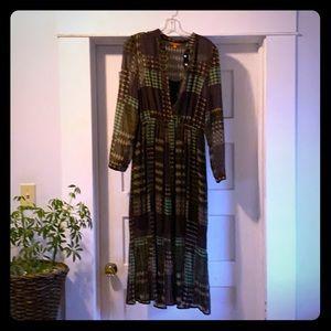 ModCloth pleated dress